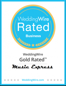 Wedding DJ Gold Badge Weddingwire find a dj for wedding entertainment