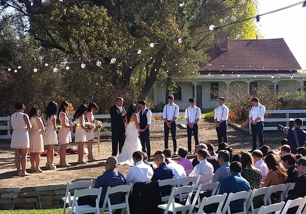San Luis Obispo Wedding DJ in Santa Margarita Central Coast Wedding DJ