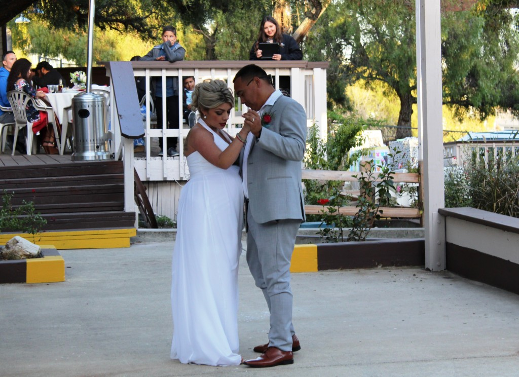 First Dance San Luis Obispo wedding dj Pismo Beach Music Express